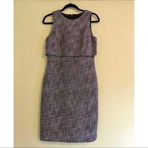 NWT J. Crew Going-Places Dress in Tweed